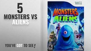 Top 10 Monsters Vs Aliens [2018]: Monsters vs. Aliens - Nintendo Wii