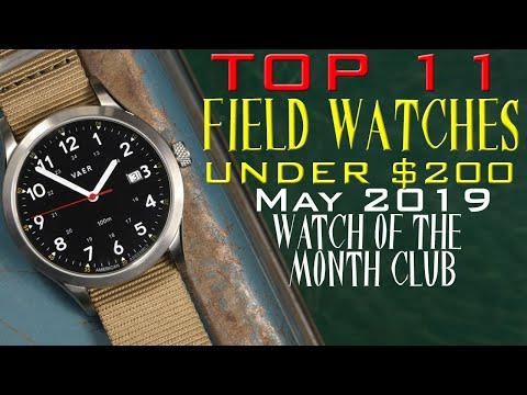 11 Best Budget Field Watches $35 - $200 Vostok, Orient, Seiko, Timex And More.