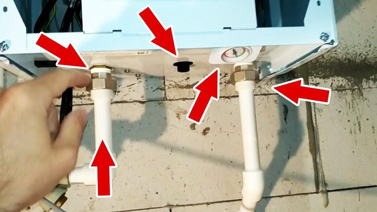Подключение комнатного термостата или программатора котла. - YouTube