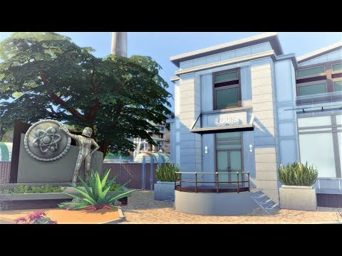 Futuresim Labs || The Sims 4 Get To Work: Speed Build