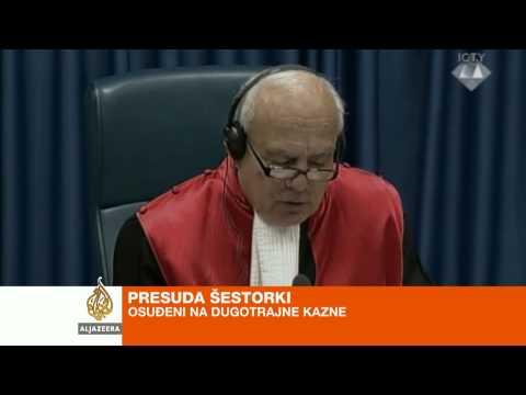 Prlić i ostali osuđeni ukupno na 111 godina - Al Jazeera Balkans