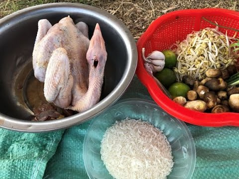 Yummy Cooking Chicken Porridge_ Khmer Traditional Food_ Cooking Recipe_ By KH Cooking TV