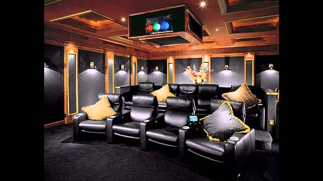 modern home theater design youtube