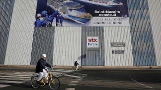 Tauziehen um französische Prestigewerft STX France - economy
