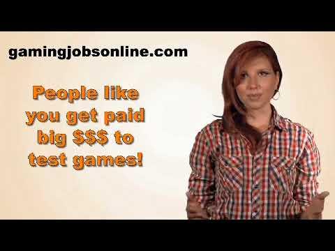 Job Testing Video Games