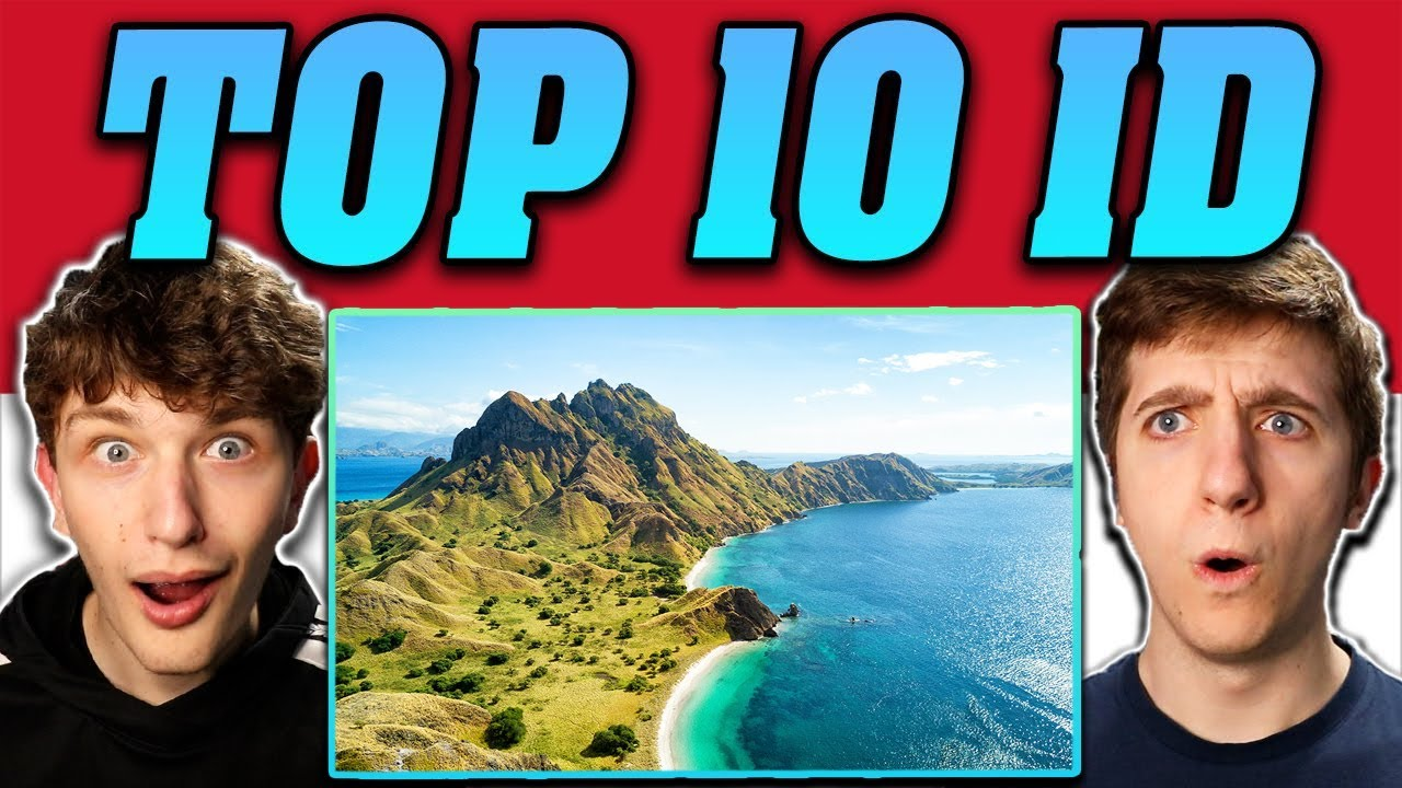 Download Americans React To 10 Best Places to Visit in Indonesia - Travel Video