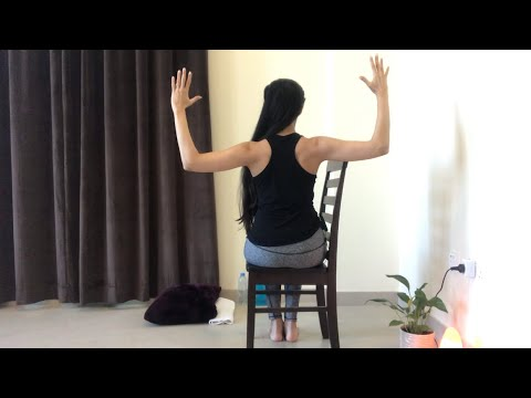 chair exercises for shoulder mobility and strength