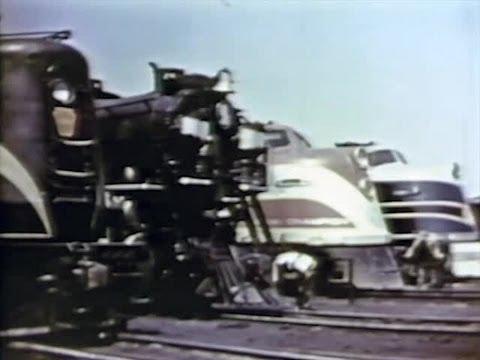 Railroadin / Railroading - 1941 American Trains - CharlieDeanArchives / Archival Footage