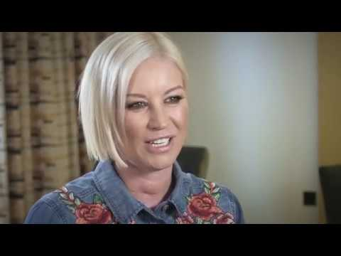 Denise Van Outen discusses her family's experiences of problematic skin