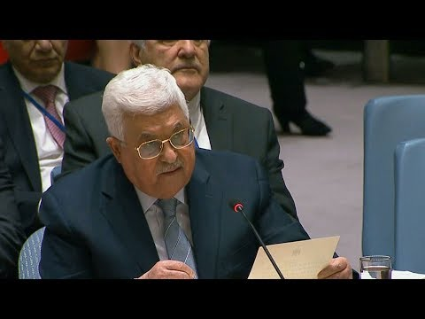At UN, Palestinian President Abbas calls for international peace conference