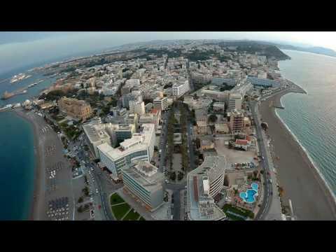 Ρόδος από ψηλά, High view of Rhodes!!!