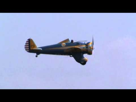 P-26 Peashooter at Flying Legends