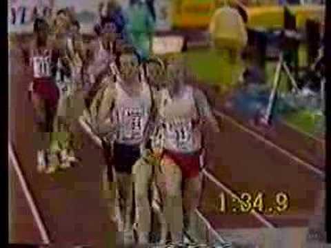 Bislett Games 1987 men's 1500m