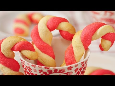 Candy Cane Cookies Recipe Video