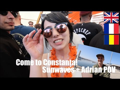 Things to do in Constanta, Romania with Adrian POV | How to get to Sunwaves | How to travel better