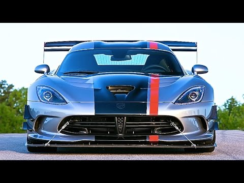 Viper ACR 2016 Review Dodge Viper ACR Exhaust Sound Nurburgring American Supercar CARJAM TV 2015