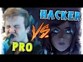 PRO Player vs HACKER Overwatch Best Moments Montage Ep.4    Taimou vs Aimbot/Wall Hack Cheater