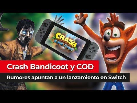 Crash Bandicoot & Call of Duty   ¿Lanzamiento en Nintendo Switch este año?