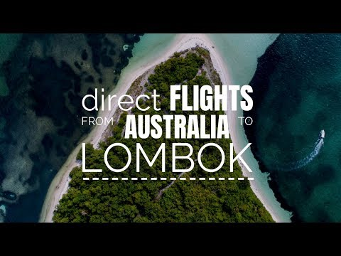 Direct flights from Australia to Lombok?