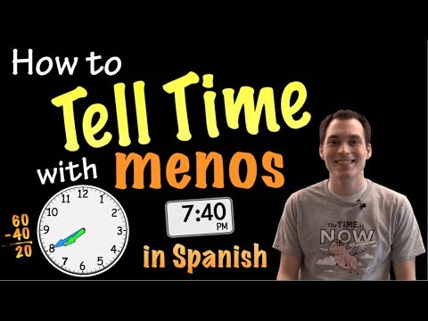 How to say matter of time in spanish