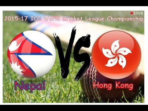 Nepal VS Hong Kong | 2015–17 ICC World Cricket League Championship | HD Quality