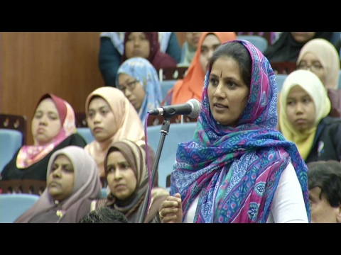 Indian Lady Converts To Islam After She Got Her Answer | Dr. Zakir Naik 2017 |