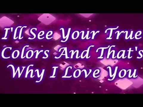 Amy Diamond - True Colors with Lyrics