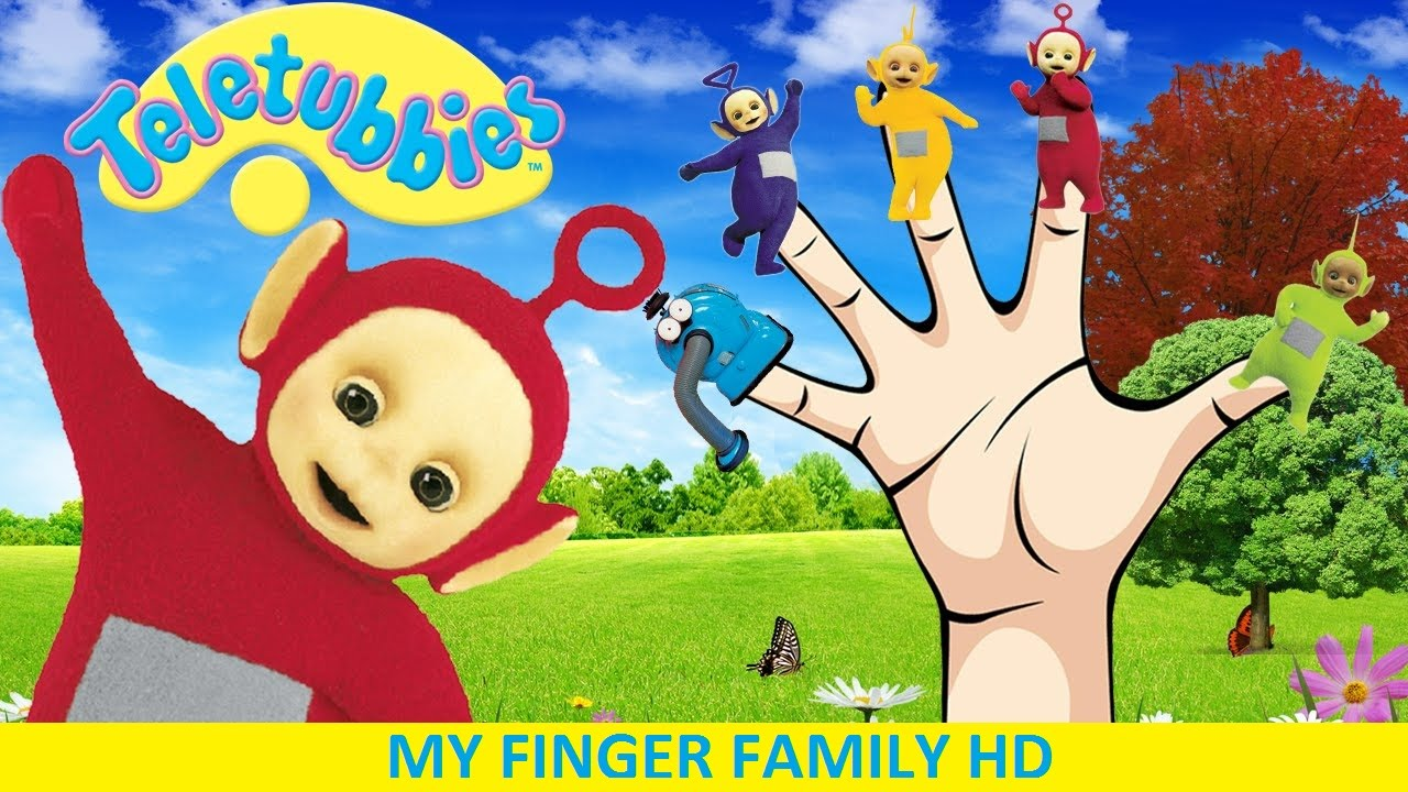 Teletubbies Finger Family | Nursery Rhymes | 3D Animation ...