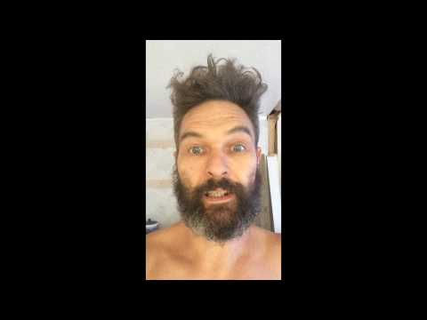 BUSH MAN HAS SOLAR SHOWER | OFF GRID NZ living life creatively