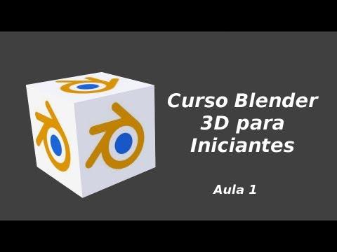 Blender 3D para Iniciantes: Aula 1-Movimentando um objeto
