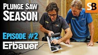 Erbauer ERB690CSW Screwfix Plunge Saw - Episode 2