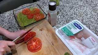 Быстрый ужин: рецепт курицы с соусом песто