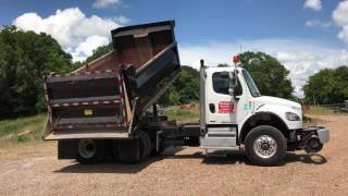 2012 FREIGHTLINER M2 BUSINESS T/A ROTARY DUMP TRUCK