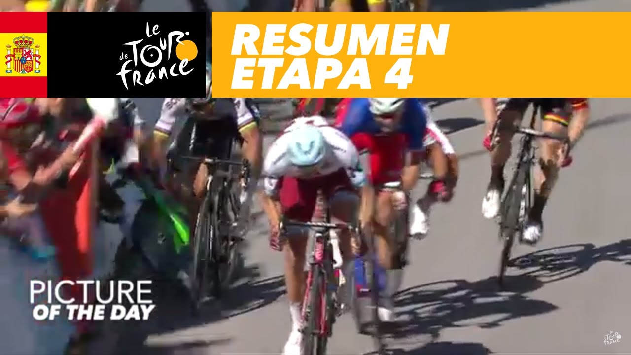 Resumen Etapa 4 Tour De France 2017 Youtube