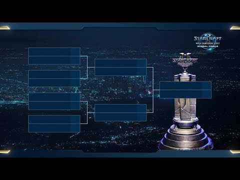 Quarterfinal Bracket Drawing - 2018 WCS Global Finals - StarCraft II