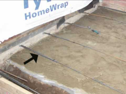 How To Lap Concrete Foundation Rebar - Home Building - YouTube