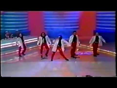 Sam Rosa - TV Manchete - Raul Gil - 2º dia