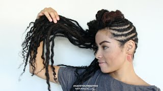 Khinky Faux Loc Extensions | #HaveYouTriedThis