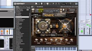 Kinetic Metal for Native Instruments Kontakt - VST Instrument Video Tour from VST Plugin Labs(A quick tour and explanation of some of the features of the Kontakt Sample Library Kinetic Metal by Mike Liebner of VST Plugin Labs. A quick look at a few of the ..., 2014-01-15T18:12:50.000Z)