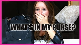 WEIRD THINGS IN MY PURSE!