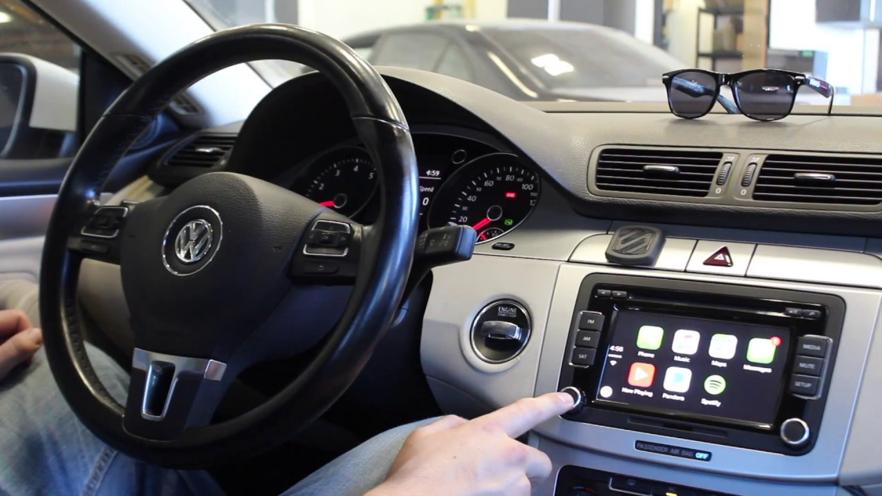 CarPlay Retrofit in Volkswagen CC