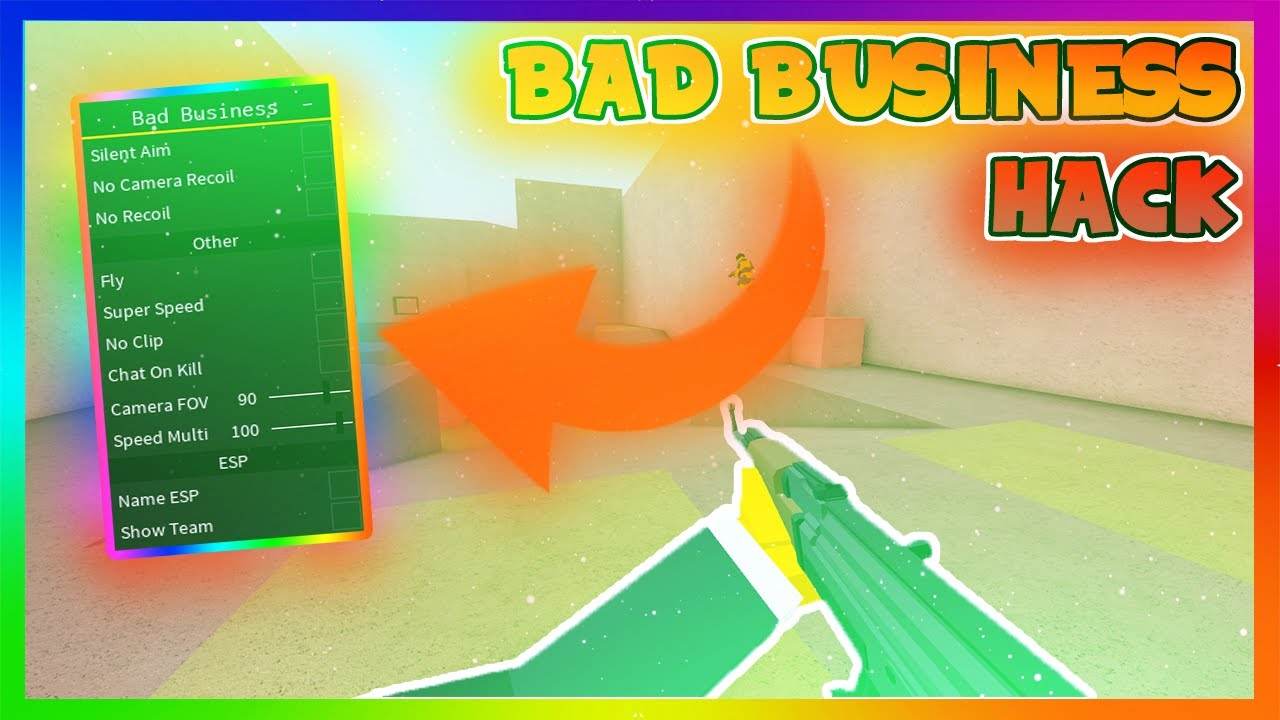 Bad Business Hack Script Roblox Aimbot Esp Silent Aim Bad Business Hack Script 2020 Aimbot Silent Aim N More Youtube
