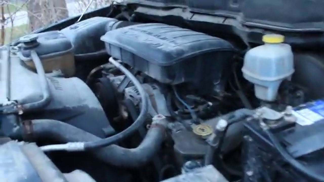 2002 Dodge Ram 1500 4.7 Engine