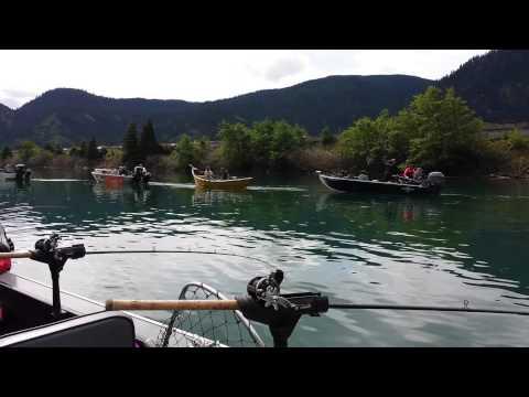 Drano Lake Fishing Watch Salmon Fishing at Drano