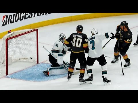Golden Knights light up Sharks with 3 goals in 91 seconds