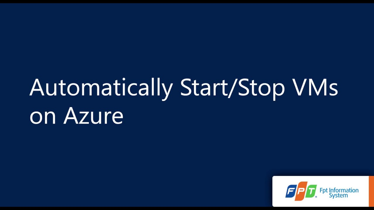 Automatically Start/Stop VMs using Runbook on Azure