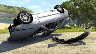 Out Of Control Crashes #12 - BeamNG Drive Realistic Car Crashes