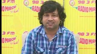 Bollywood World - Kailash Kher promotes his new song Tere Liye on Radio Mirchi