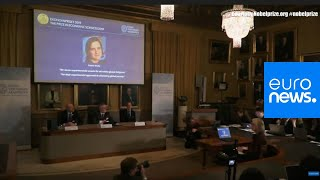 Announcement of the Nobel Memorial Prize in Economic Science | Live