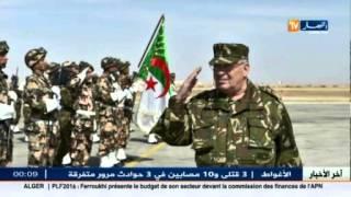 دفاع : الفريق قايد صالح في زيارة عمل و تفتيش للناحية العسكرية6